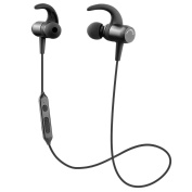 Bluetooth Headphones, SoundPEATS Q24 in Ear Wireless Earphones Lightweight HD Stereo Sound Headphones with Microphone,SweatProof Magnetic Earbuds, Music Streaming, Secure Fit for Sports