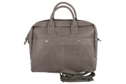 Folder office LUMBERJACK for notebook tablet taupe with shoulder strap H235