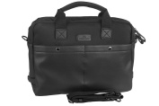 Folder office LUMBERJACK for notebook tablet black with shoulder strap H227