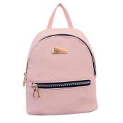 Rcool Women Fashion Pu Leather Backpack Travel Handbag Rucksack Shoulder Daypack Bag School Bags