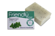 Friendly Soap Natural Handmade Peppermint & Poppy Seed Soap