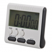 Demiawaking Magnetic Large Digital Kitchen Timer Countdown Alarm Clock 24 Hours