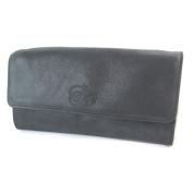 """Bag purse leather glitter 'Les Trésors De Lily'black (2 compartments)- 16x8x3 cm (6.30""""x3.15""""x1.18"""")."""