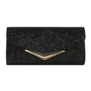 Clasichic Ladies Sparking Sequins Evening Wedding Party Bridal Clutch Purse Shoulder Bag