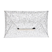 Clasichic Women's Sequins Envelope Wedding Evening Party Prom Clutch Purse Bag Handbag