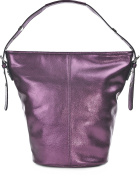George Gina & Lucy Women's Shoulder Bag purple Metallic Lila
