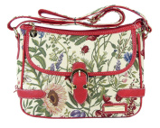 Victoria Tapestry - Jessica Shoulder Bag - Wild Flowers