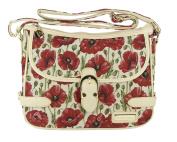 Victoria Tapestry - Jessica Shoulder Bag - Poppies