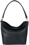 JosyJoe 'Kerry' Sling bag made from soft genuine leather Made in Italy, colour:Dark Blue