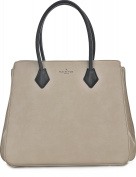 Paul's Boutique Women's Top-Handle Bag grey Hellgrau