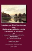 Landbuch Der Mark Brandenburg Und Des Markgrafthums Nieder-Lausitz. Zweiter Band [GER]