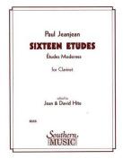 16 Etudes: Clarinet