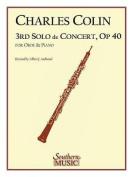 Third Solo de Concert: Oboe