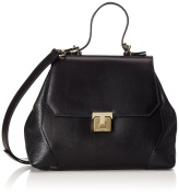 TRUSSARDI JEANS by Trussardi Women's Top-Handle Bag black black 29 cm