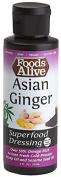 Superfood Dressing, Asian Ginger, 90% Organic, 120ml