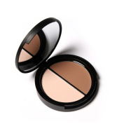XILALU Cosmetic Make up Face Bronzer & Highlighter 2 Diff Colour Concealer Matte Powder