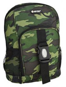 HI-TEC Camo Junior Kids Rucksack Backpack Camouflage