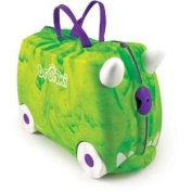Trunki Trunkisaurus Rex Ride-On Suitcase - Green.