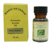 Patchouli Fragrance Aromatic Aroma Essential oil 100% Pure and Natural - 15 ml