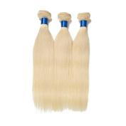 Shengmeiyuan Beauty Brazilian 613 Blonde Silky Straight Virgin Hair Weave Grade9A 100%Unprocessed Human Hair Extensions 3 Bundles 95-100g/pc