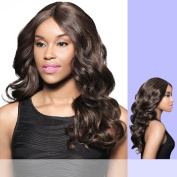 H/B DAVITA (Foxy Lady) - Human Hair Blend Lace Part Wig in F1B30