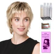 Play by Ellen Wille, Wig Galaxy Hair Loss Booklet, Shampoo, Conditioning Spray, Flexible Spray, HD Smooth Detangler, Wig Cap, & Wide Tooth Comb (Bundle - 8 Items), Colour Chosen