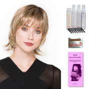 Limit by Ellen Wille, Wig Galaxy Hair Loss Booklet, Shampoo, Conditioning Spray, Flexible Spray, HD Smooth Detangler, Wig Cap, & Wide Tooth Comb (Bundle - 8 Items), Colour Chosen