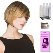 Fresh by Ellen Wille, Wig Galaxy Hair Loss Booklet, Shampoo, Conditioning Spray, Flexible Spray, HD Smooth Detangler, Wig Cap, & Wide Tooth Comb (Bundle - 8 Items), Colour Chosen
