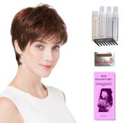 Fair Mono by Ellen Wille, Wig Galaxy Hair Loss Booklet, Shampoo, Conditioning Spray, Flexible Spray, HD Smooth Detangler, Wig Cap, & Wide Tooth Comb (Bundle - 8 Items), Colour Chosen