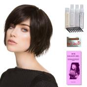 Echo by Ellen Wille, Wig Galaxy Hair Loss Booklet, Shampoo, Conditioning Spray, Flexible Spray, HD Smooth Detangler, Wig Cap, & Wide Tooth Comb (Bundle - 8 Items), Colour Chosen
