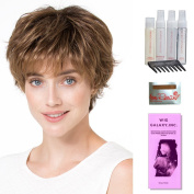 Club 10 by Ellen Wille, Wig Galaxy Hair Loss Booklet, Shampoo, Conditioning Spray, Flexible Spray, HD Smooth Detangler, Wig Cap, & Wide Tooth Comb (Bundle - 8 Items), Colour Chosen