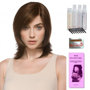Casino More by Ellen Wille, Wig Galaxy Booklet, Shampoo, Conditioning Spray, Flexible Spray, HD Smooth Detangler, Wig Cap, & Wide Tooth Comb (Bundle - 8 Items), Colour Chosen