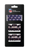 NFL Hair Accessory 2-Hair Clips and 3-Elastic Ponytail Bands