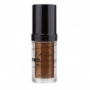 L.A. Girl Pro Coverage Liquid Foundation, Rich Cocoa, 0.95 Fluid Ounce