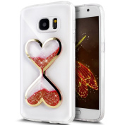 UCLL for  for  for Samsung   Glaxy S6 Case,Time hourglass Design Case for Glaxy S6 with a Screen Protector