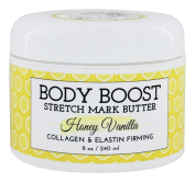 Body Boost Stretch Mark Butter - Honey Vanilla 240mls