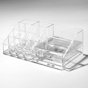Acrylic Makeup Organiser Cosmetic Jewerly Display Box 2 Piece Set by AcryliCase