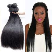 AAAAAAA Grade Mink Brazilian Straight Virgin Hair 4 Bundles 100% Unprocessed Virgin Hair No Tangle 7A Human Hair Weave Extensions