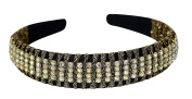 Great Gatsby / Flapper Inspired Fashion Headband / Hairband with Rhinestones
