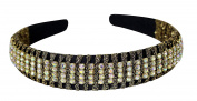 Great Gatsby / Flapper Inspired Fashion Headband / Hairband with Rhinestones