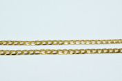 New Gold Filled Chain 18K Size 3mm for Jewellery Making GFC44 Sold by Foot