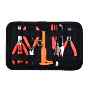 Beadthoven Jewellery Making Tools Kit Set, 10pcs Jewellery Beading Tools, Pliers, Scissor, Vernier Calliper, Crochet Hook Needles, Needle Hook, Bead Awl, Jump Ring Opener, Files Hook