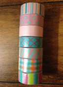 Recollections Washi Crafting Tape 7 piece set