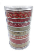 Celebrate It Occasions Holiday/Christmas Ribbon Value Pack