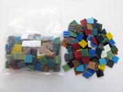 Hakatai Glass Tile 1.9cm - 0.5kg Rainbow Bright AB 11