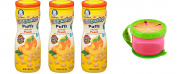 Gerber Graduate Peach Puffs with Twist 'n Click Snacker