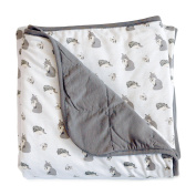 Kyte BABY Unisex Baby Printed Toddler Blanket 1.0 tog One Size Clay/Woodland
