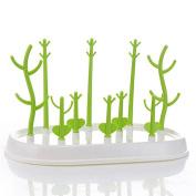 Multi-functional Baby Bottle Drying Rack Cups Dryer Tree-Shape Anti-Bacterial