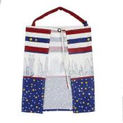 Zebra Cleanable Baby Mum Breastfeeding Nursing Poncho Udder Covers Blanket Shawl