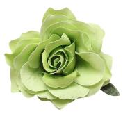 Fabric Large Rose Flower Flamenco Dancer Pin up Hair Clip Slide